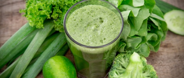 Grüne Smoothies - gesunde Gemüsesäfte